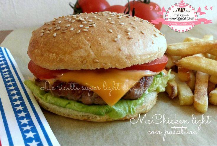 McChicken light fai da te - con patatine! (429 calorie)