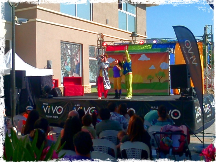 Cantando Aprendo Hablar el show en VIVO Piedra Roja
