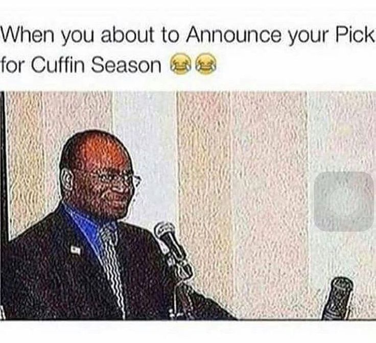 Cuffing season is on the way