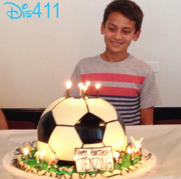 """Tenzing Norgay Trainor Received Nice Happy Birthday Messages From His """"Liv And Maddie"""" Family September 4, 2014"""