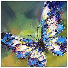 Resultado de imagen para cuadros de mariposas al oleo