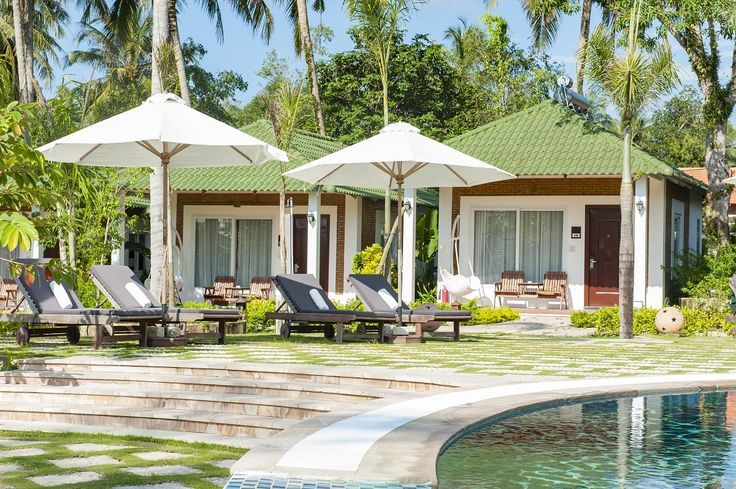 """""""One of the best ways to change your life is to change the surrounding environment and then change yourself"""" The greenery and peacefulness of Green Villa side of Famiana Resort would be perfect to restore the balance in your life.#Famianaresort #Phuquoc"""