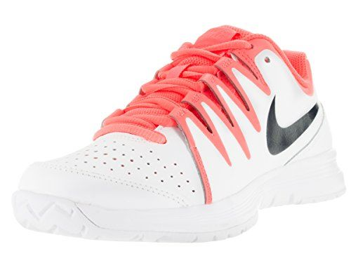 Nike Womens Vapor Court WhiteObsdnBrght MngAtmc Pnk Women's Tennis and Racquet Sports Shoes Shoe 95 Women US >>> Read more reviews of the product by visiting the link on the image.(This is an Amazon affiliate link)