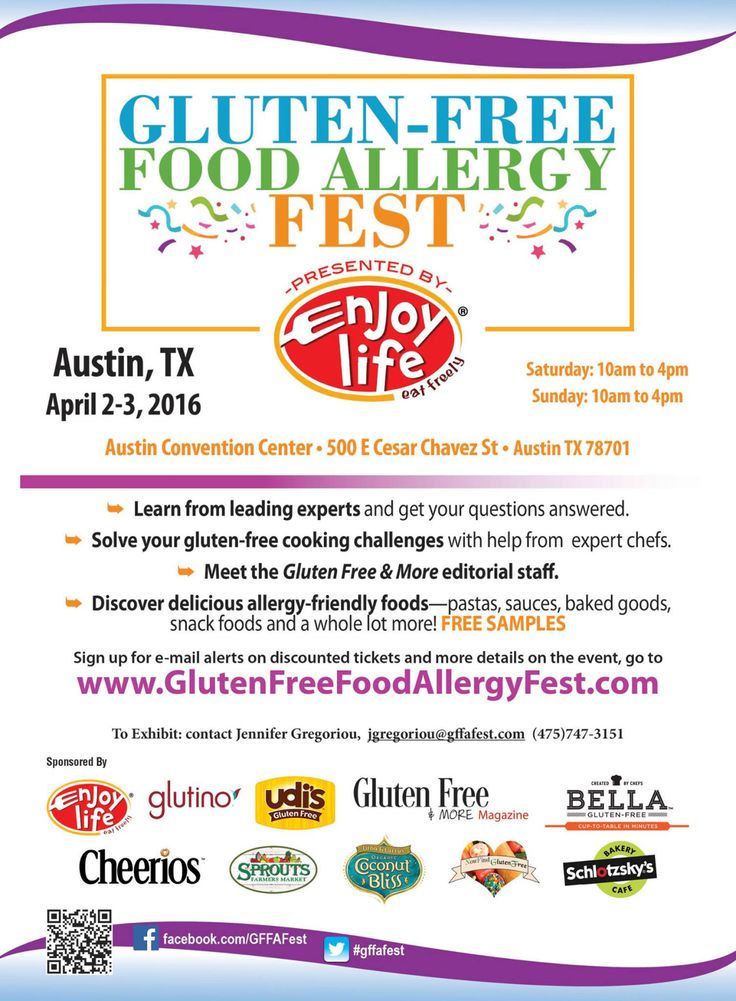 Gluten Free Food Allergy Fest Portland
