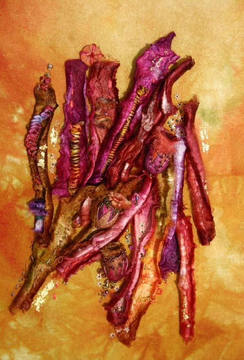 stef francis silk cocoon and carrier rod art - Google Search
