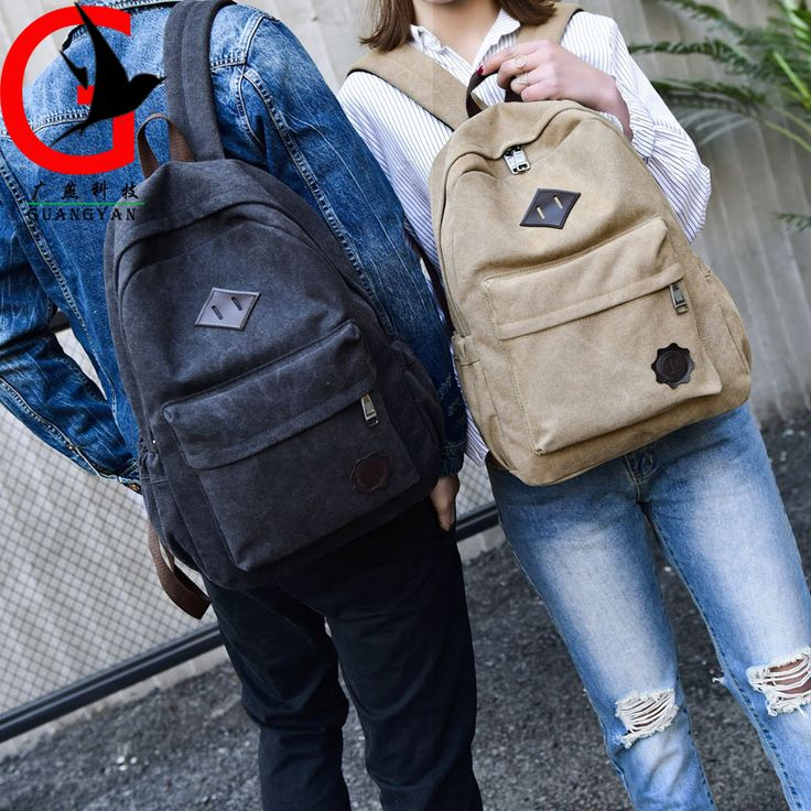man backpack 2017 Canvas backpack for girls school bag for College student traveling backpack woman Leisure bag MSW-F8007