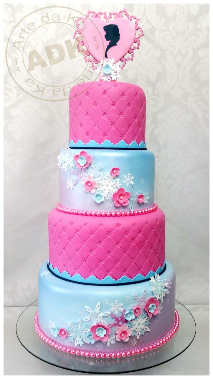 Anna Frozen - Cake