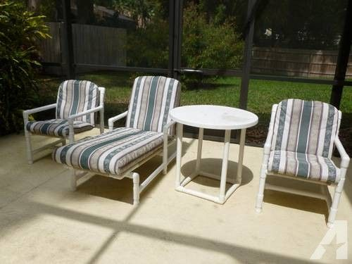 easy modern patio furniture ideas wooden pallets pipes concrete pvc outdoor replacement cushions south florida pipe diy