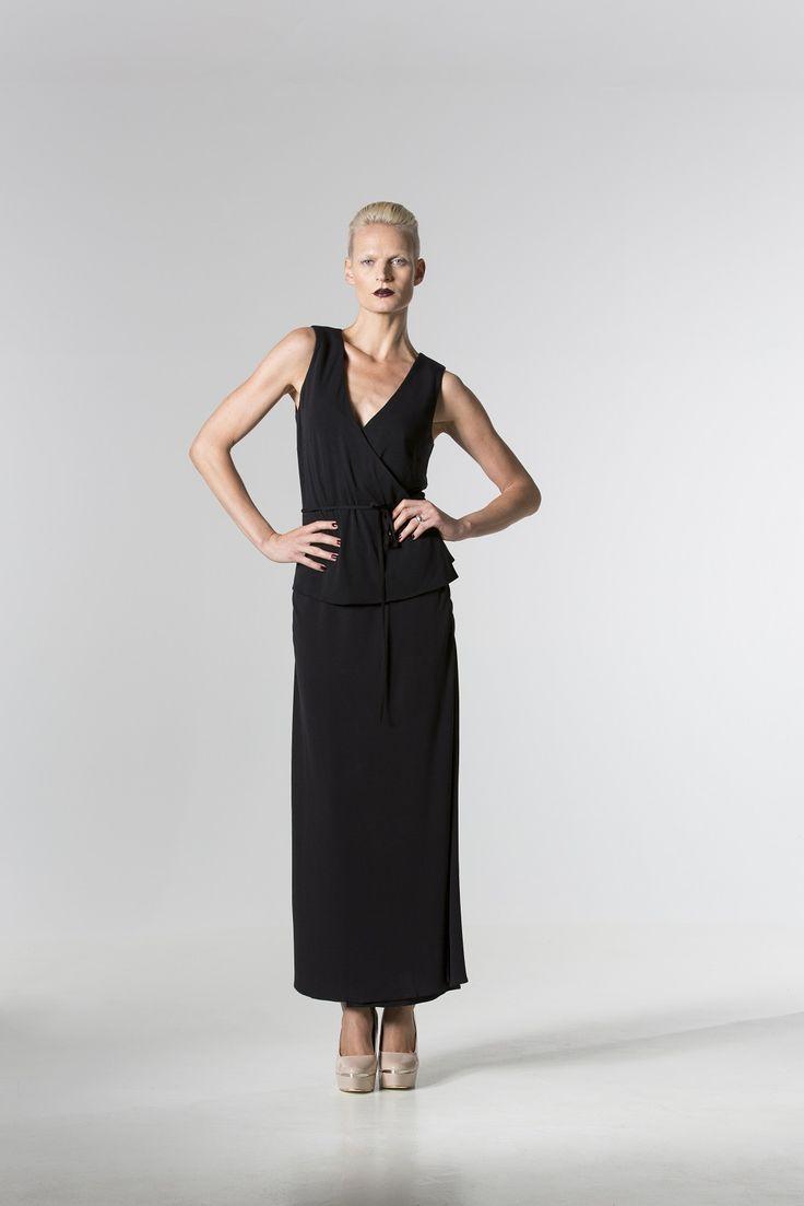 The @ bojanglesbelle Jersey Wrap Top and @ ladyvloves Jersey Skirt http://spencerclothing.com