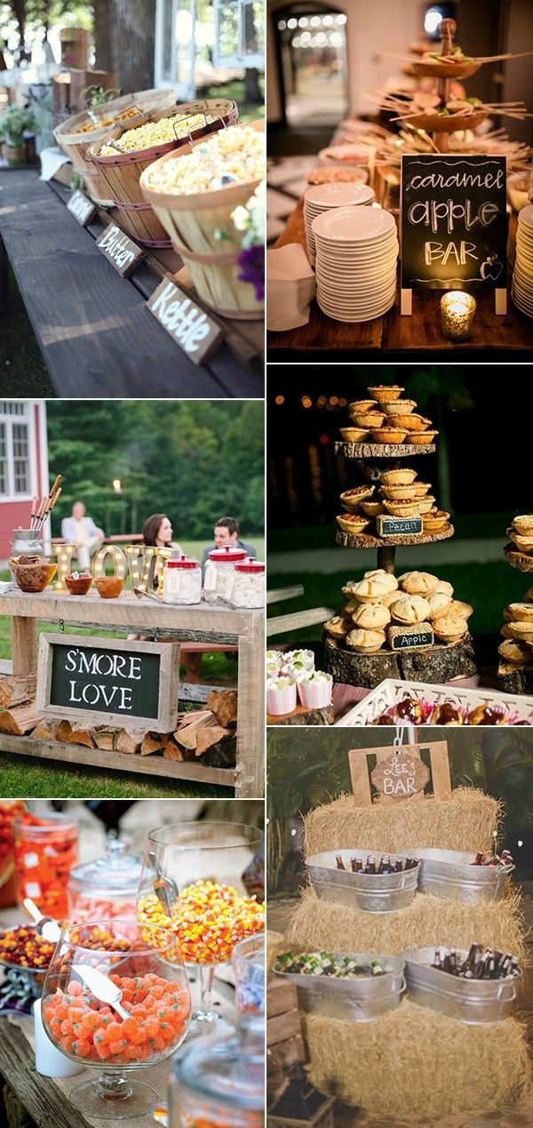 25 best ideas about wedding food bars on pinterest for Cheap bar top ideas