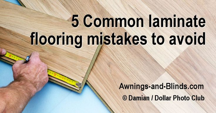 5 Common laminate flooring mistakes to avoid! How to side-step issues with floating floor problems. Laminate installation issues can be costly mistakes.