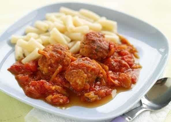 This recipe makes a lot of meatballs. Divide the mixture between freezer bags, label and freeze for up to one month