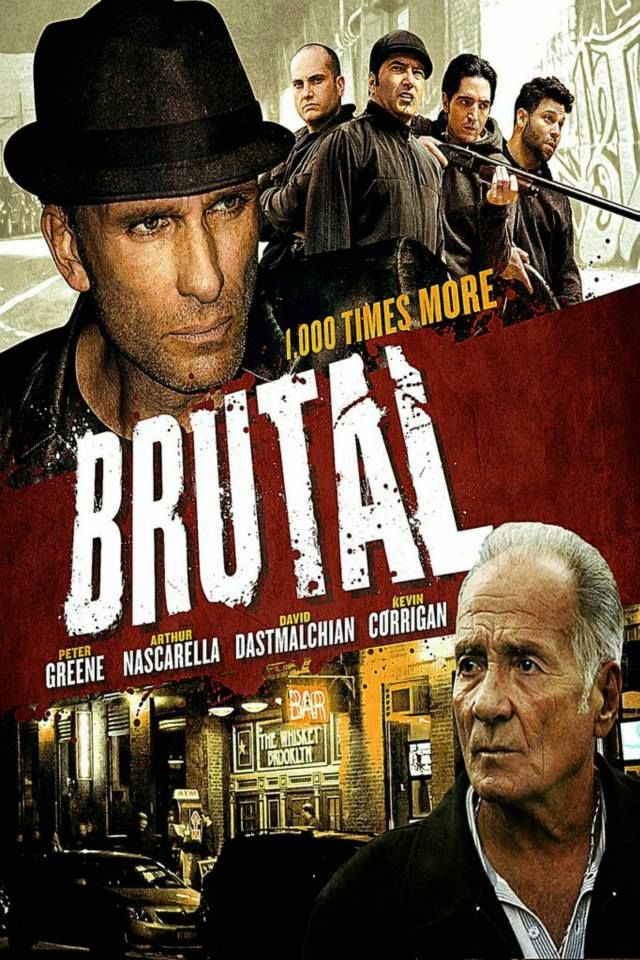 "#Movie #IMDb #Movies #DVD #DVDs #Film #Films #ActionMovie #ActionMovies #Action #Crime #Crimes #Brutal (Short Synopsis) ""Four long-time pals tangle with a low-level gangster. Now, if they can't hustle their way out, they'll pay the ultimate price... but the streets of Brooklyn are more Brutal than they imagined."" (Starring) Arthur Nascarella (Enemy of the State), Bianca Hunter (The Fighter), David Dastmalchian (The DarkKnight), Peter Greene (Pulp Fiction), and Kevin Corrigan (Pineapple…"