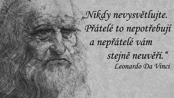 Nikdy nevysvětlujte