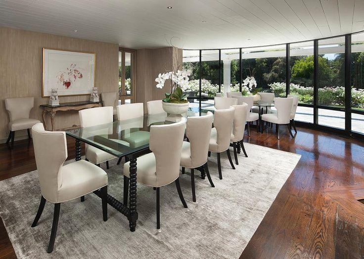 Celebrity Homes Bob Hopes Former Estate In Toluca Lake Calif Open Family RoomFamily Dining