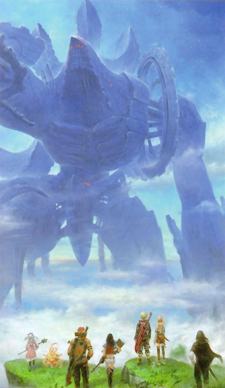 Xenoblade Chronicles - Party Illustration