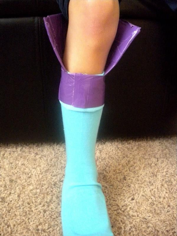 Tutorial: Duct Tape Boots for Musketeers   101 Duct Tape Crafts