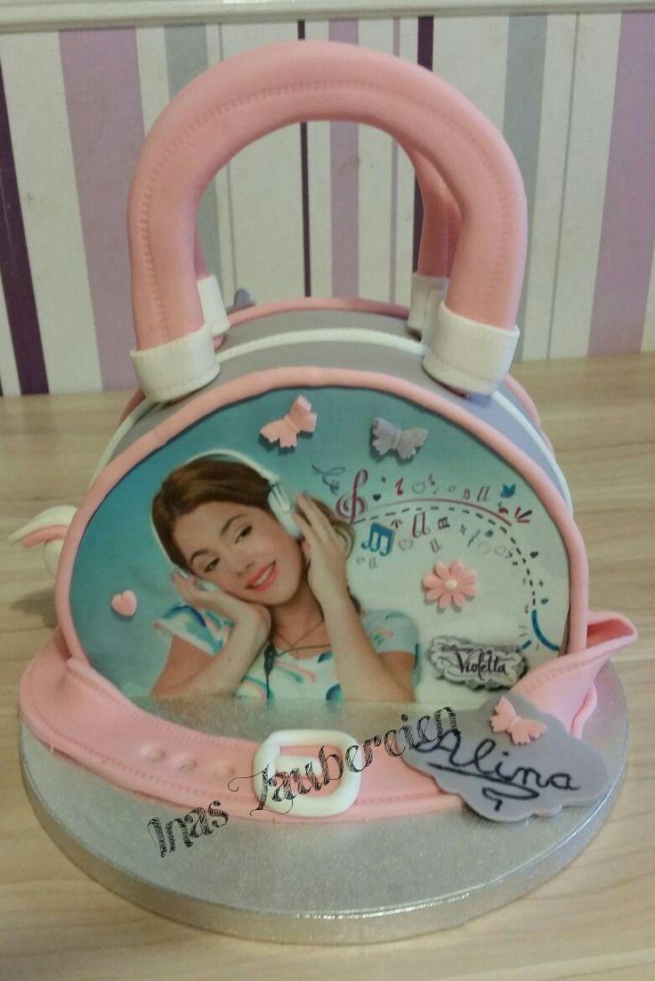 Violetta Handtaschen Torte