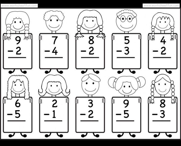 Envision Math Kindergarten Worksheets