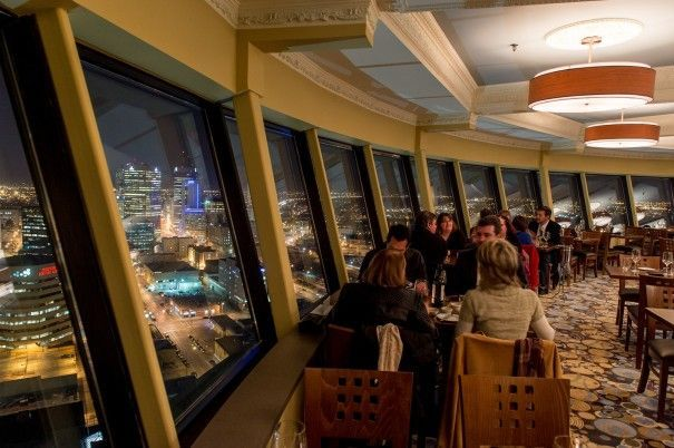 Take in a 360-degree view of the city while wining and dining in the sky at Winnipeg's only revolving restaurant, Prairie 360.