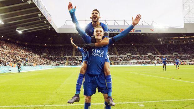 Leicester Tegaskan Jamie Vardy & Riyad Mahrez Tak Dijual