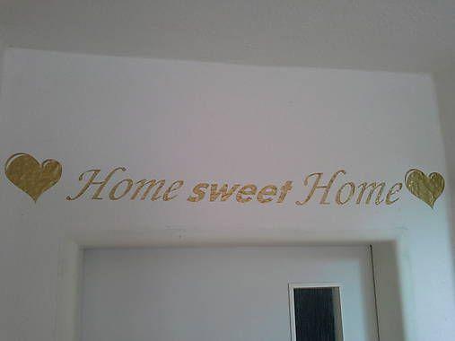 Tutidekor / Nàlepka na stenu Home sweet Home