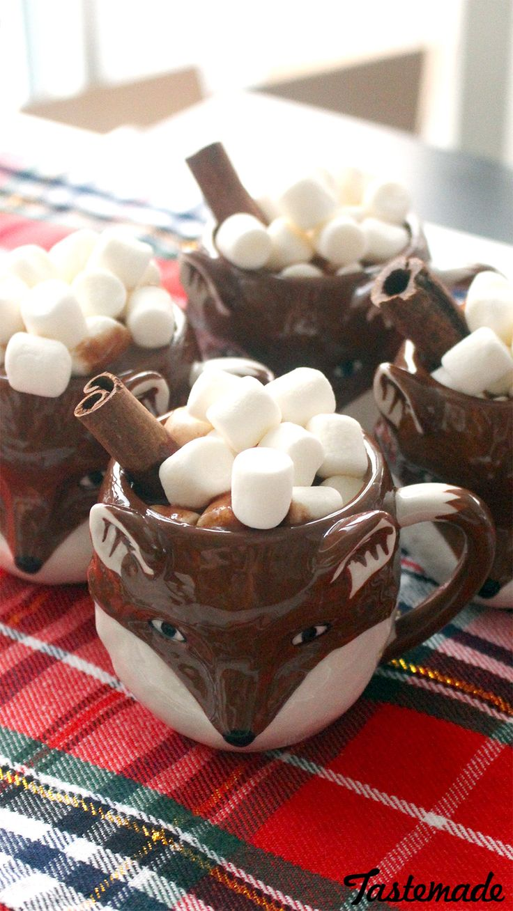 Why simply eat chocolate bars when you can turn them into a rich, cozy drink?