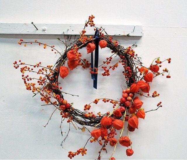 Wreath by The Informal Florist