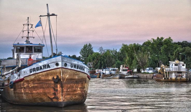 #Puerto de Frutos en Tigre - Argentina - #HDR #photos