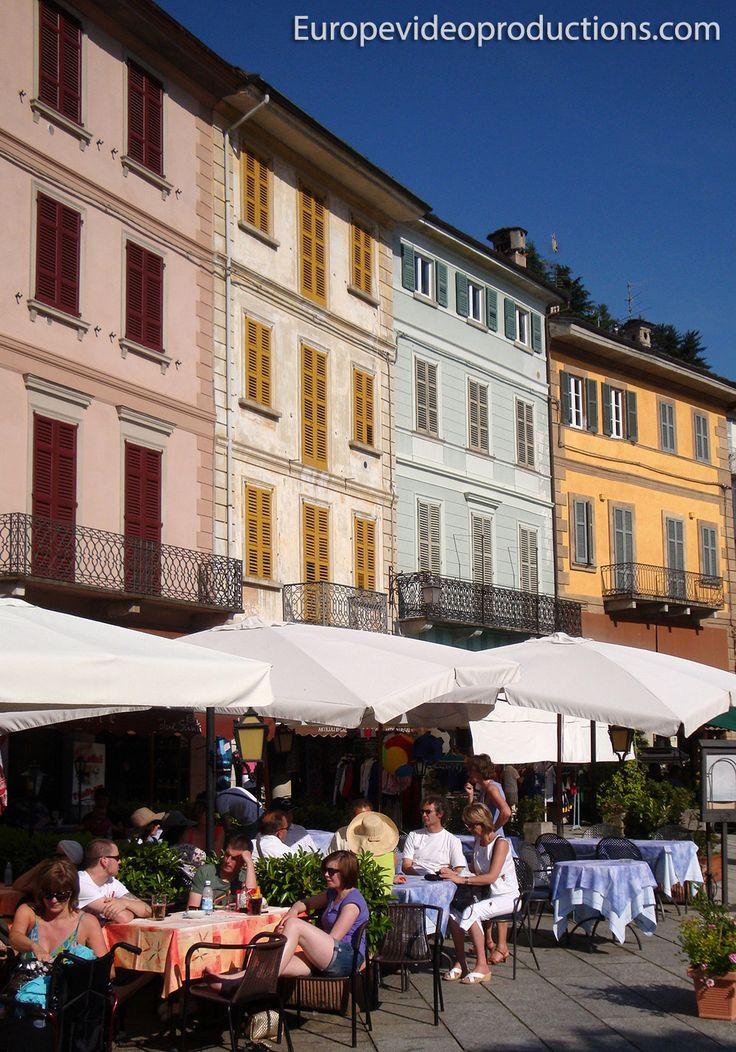 Orta San Giulio, en la región de Piamonte, en Italia