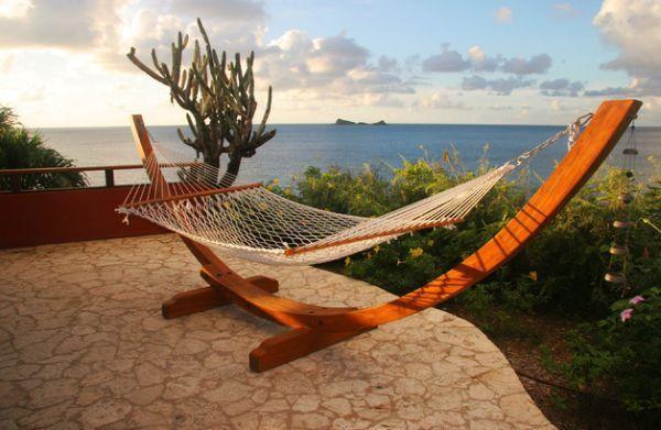Modern hammock ideas sea view