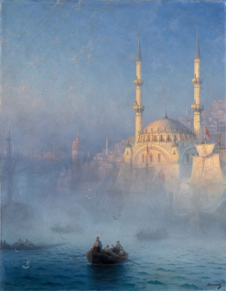 Ivan Ayvazovsky-View of the Port of Constantinople