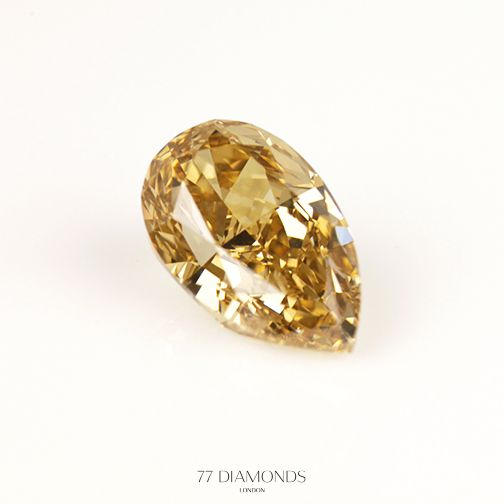 Brown or Cognac diamonds make for a beautiful alternative to white diamonds.