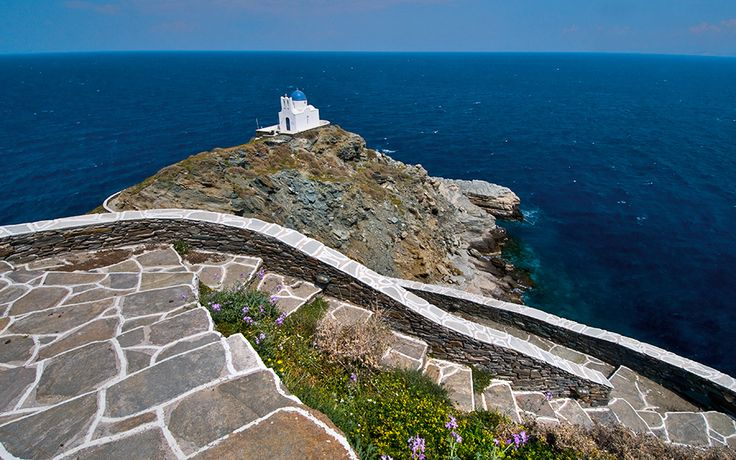 Chapel of the 7 Martyrs, Kastro, Sifnos   Cyclades, Greece.
