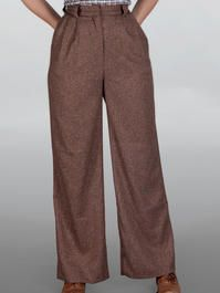The 40's work pants. Brown salt & pepper