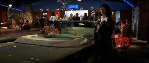 pulp fiction diner - Google Search