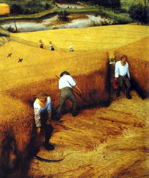 PIETER BRUEGHEL the Elder - Flemish (Breda ca.1525-1569 Brussels) - The Harvesters, 1565