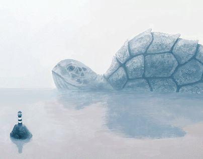 "Check out new work on my @Behance portfolio: ""Морская черепаха"" http://be.net/gallery/36565323/morskaja-cherepaha"
