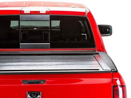 "BAK RollBAK Retractable Truck Bed Cover - Rolls into a canister - Low profile - 1/2"" aluminum slats - 2 year warranty"