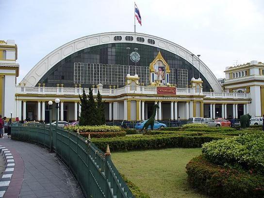 Hua Lamphong Station in Bangkok, Thailand
