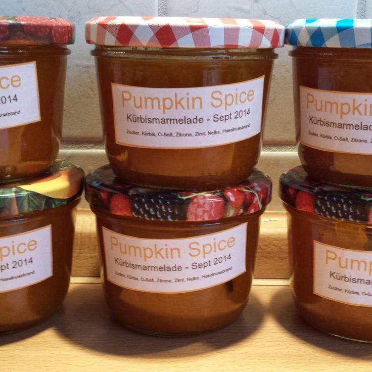 Rezept Kürbismarmelade mit Zimt von Nane79 - Rezept der Kategorie Saucen/Dips/Brotaufstriche