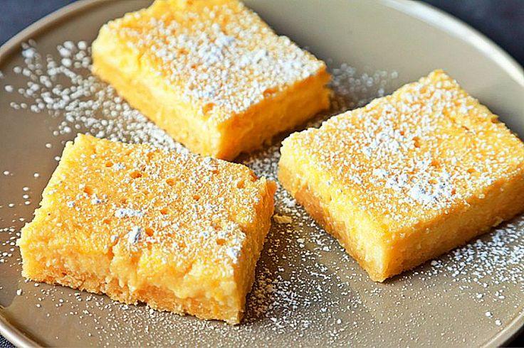 Let spring in with these lemon ricotta bars seasons for Food52 lemon bar