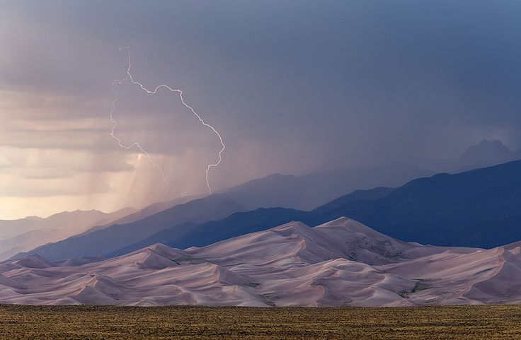 Photograph Summer Storm, Great Sand Dunes by Sarah Marino on 500px