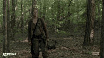 "First of all, let's just talk about the reunion seen 'round the world, and how it was everything. | An Open Letter To Carol And Daryl From ""The Walking Dead"""