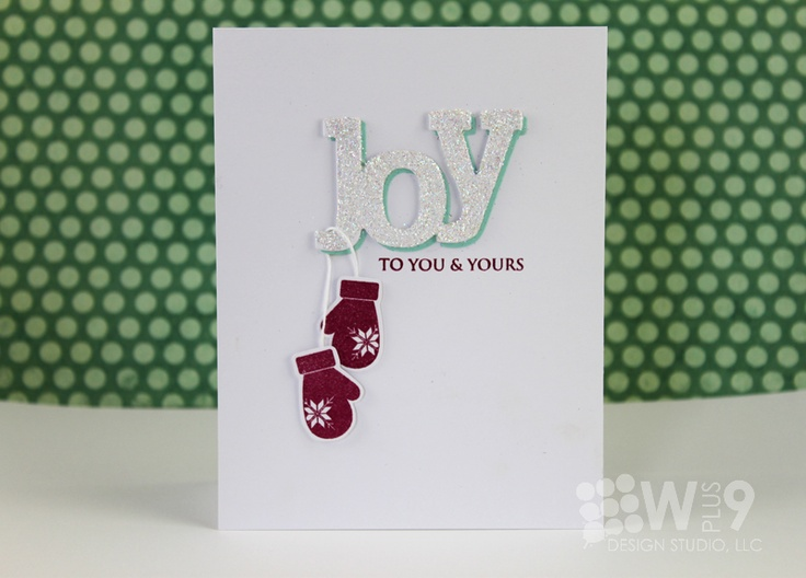 Stamp Away With Me: Wplus9 Design Clips: Joy To You & Yours
