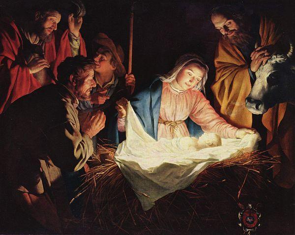 Gerard van Honthorst - Aanbidding der herders