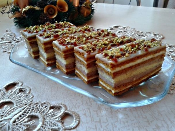 Karamelové rezy s krupicovým krémom (fotorecept) - obrázok 18