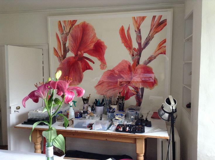 Rosie sanders'studio