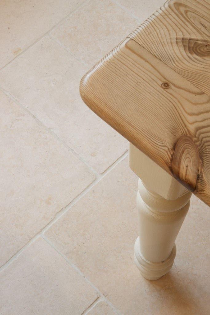 Rustic stone floor - perfect for kitchens from Artisans of Devizes. www.artisansofdevizes.com