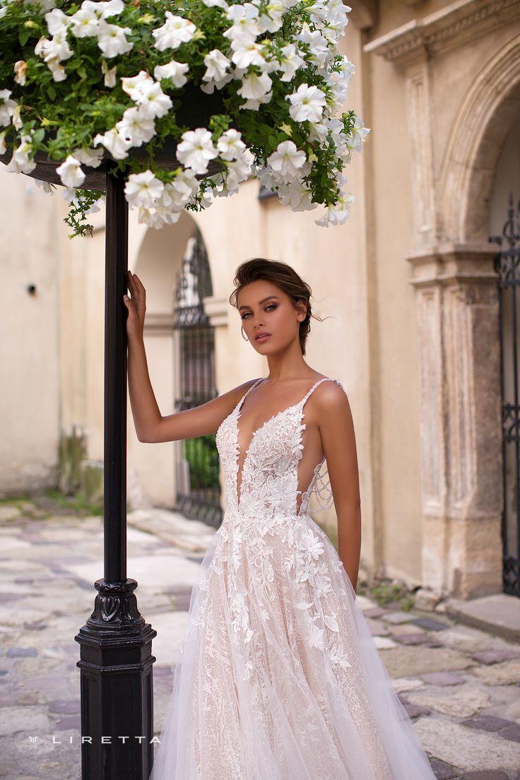 Liretta <b>Wedding Dress</b> - Liberica | Liretta Wedding <b>Blue</b> Mountain в ...